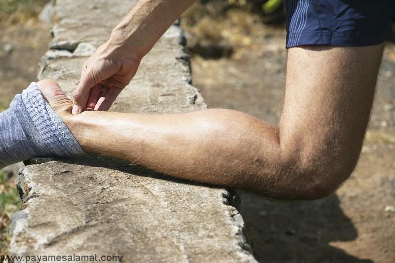 علل و درمان درد تاندون آشیل