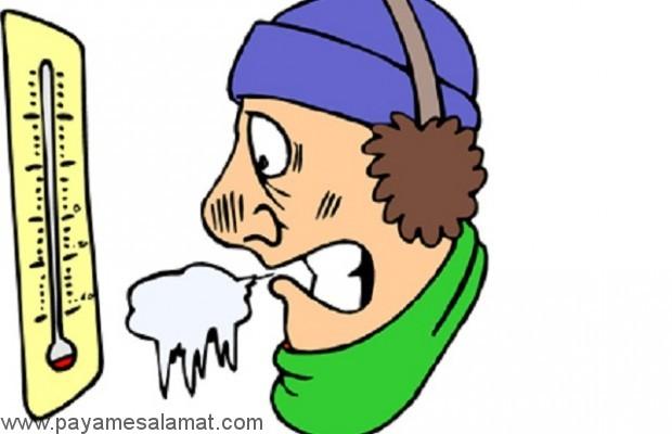 علائم، علل و عوامل خطر هیپوترمی یا کاهش تدریجی دمای بدن