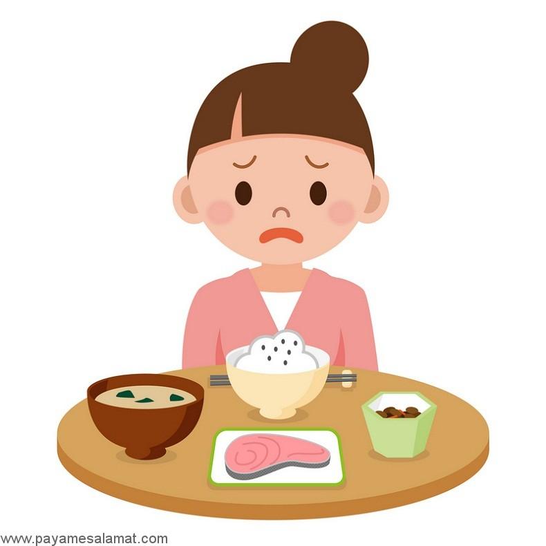 مهمترین علل ایجاد کننده حالت تهوع بعد از غذا خوردن