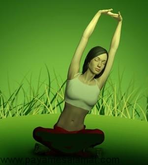 تمرین یوگا برای کمر درد