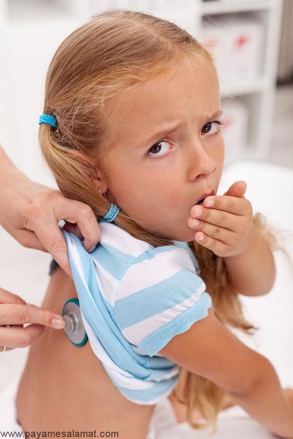 خروسک در کودکان یا لارنگوتراکئوبرونشیت