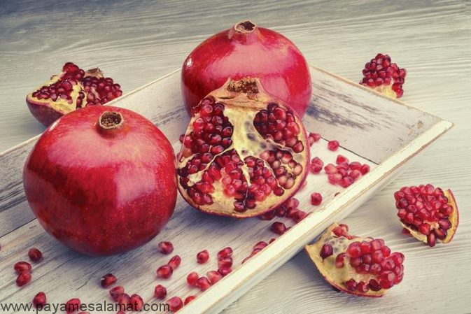 آیا خوردن دانه انار برای بدن مفید است؟