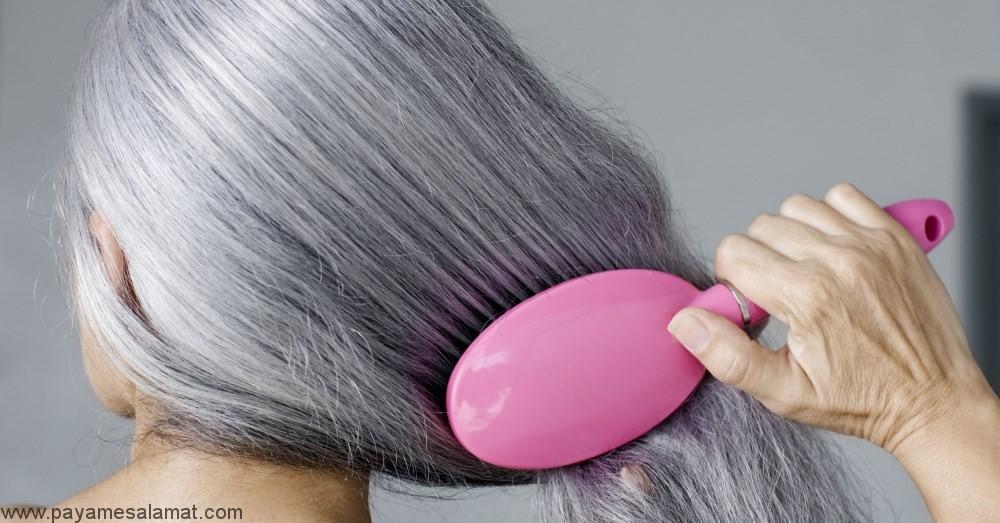 همه چیز در مورد سفید شدن مو