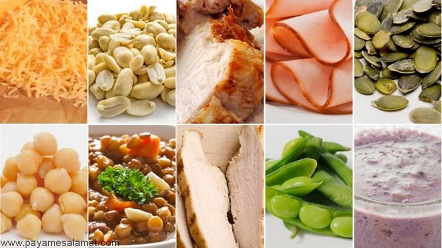 مواد غذایی حاوی آرژنین