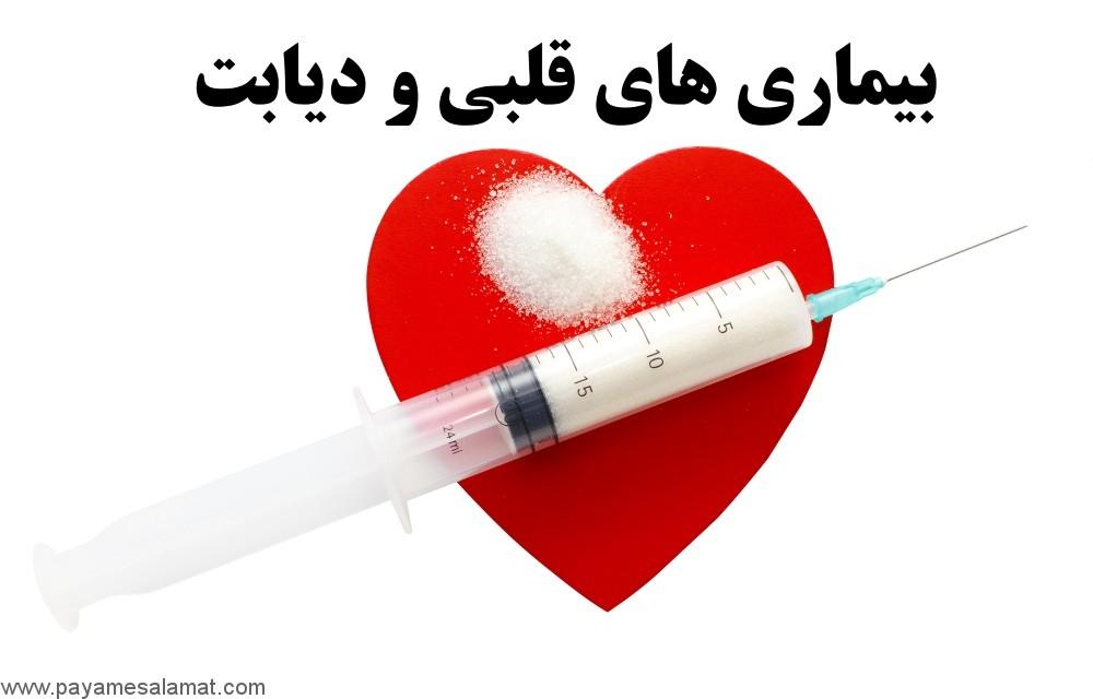 بیماری های قلبی و دیابت و روش های پیشگیری از آن ها