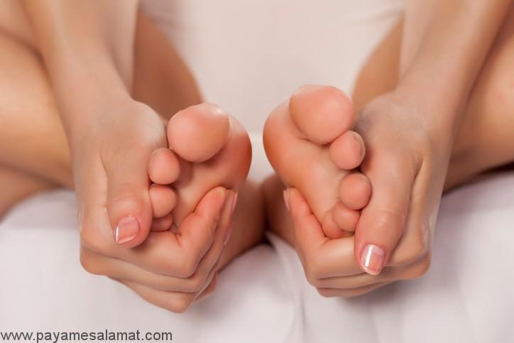 روش های ساده و موثر درمان خانگی درد پا