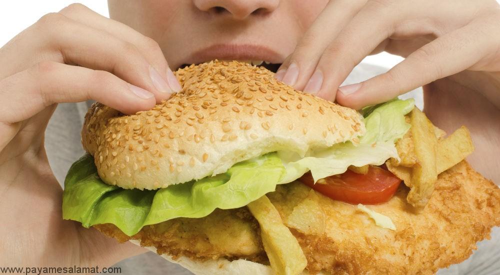نکات مهم درباره فست فود و دیابت