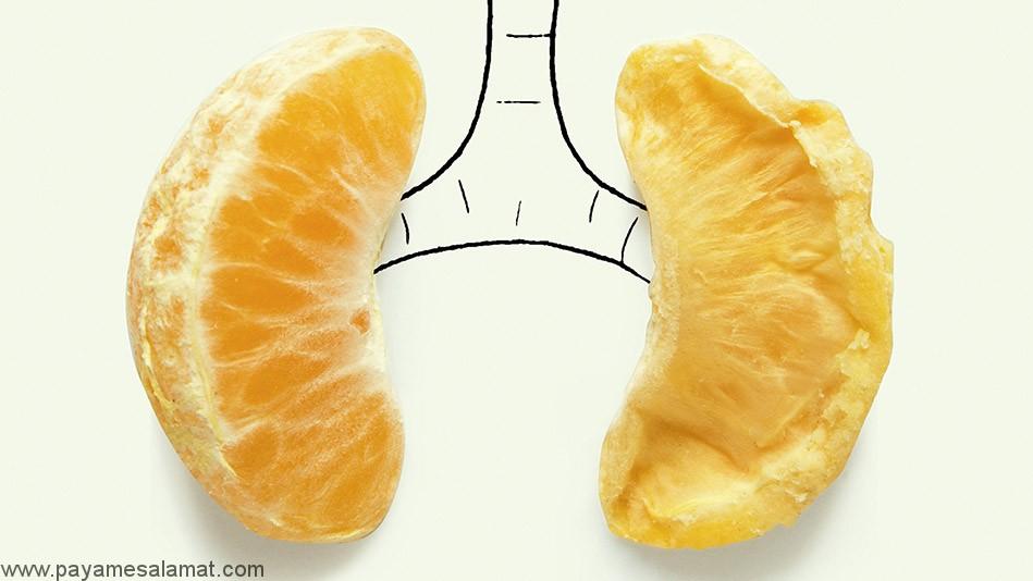 موثر ترین مواد غذایی برای پاکسازی ریه ها