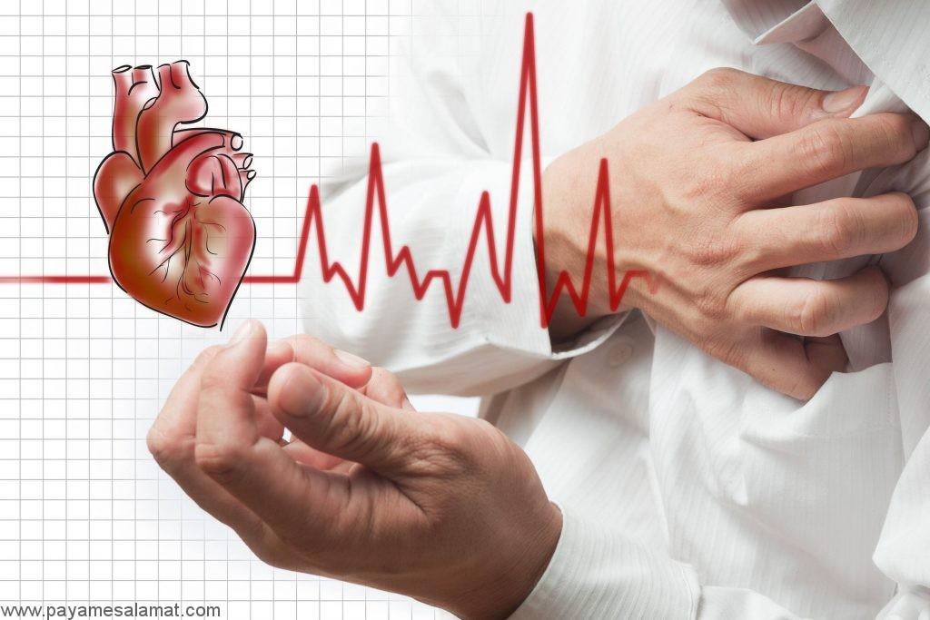 عوارض بیماری عروق کرونر قلب (CAD)