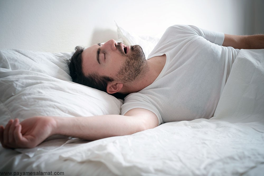 تأثیر آپنه خواب بر روی بدن و سیستم های فعال آن