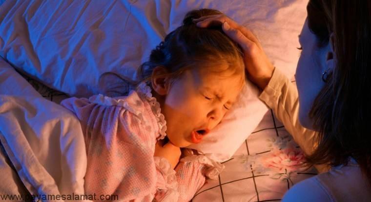 علت سرفه شبانه در کودکان چیست؟