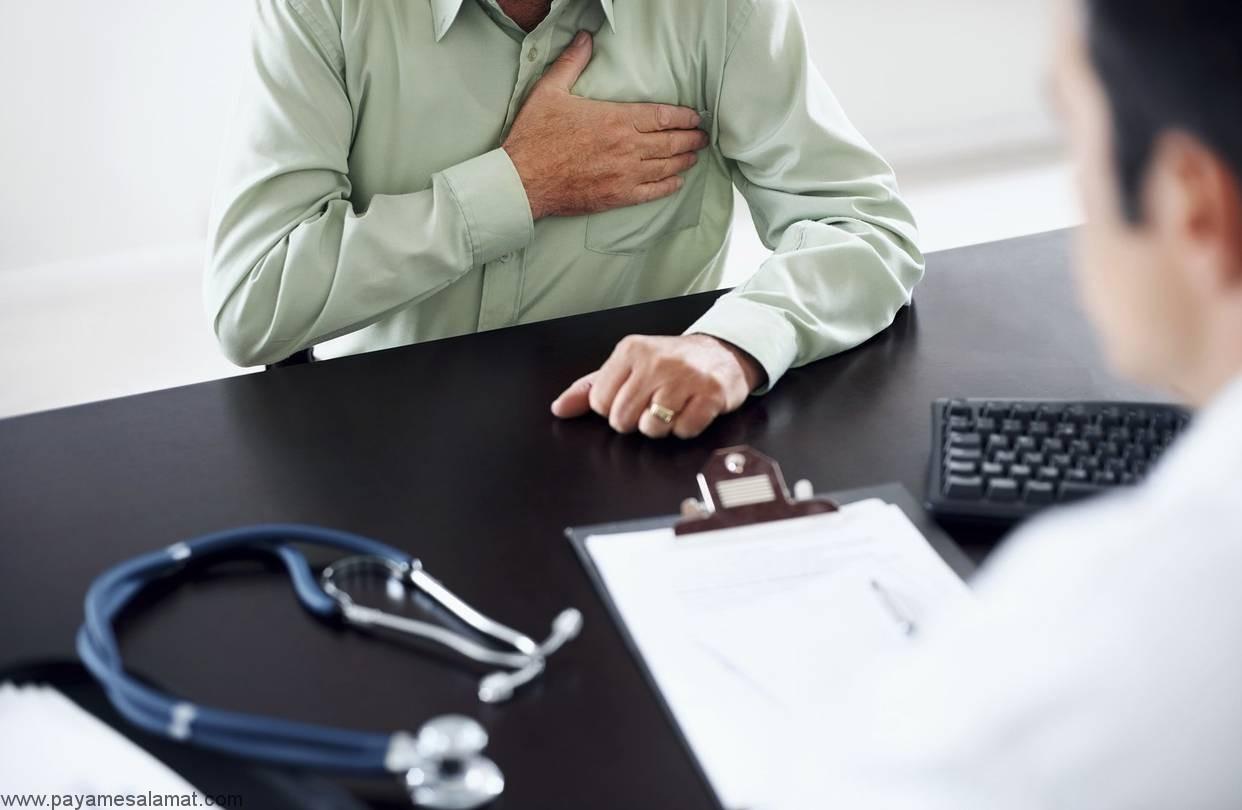 چه چیزی باعث درد قفسه سینه و استفراغ می شود؟