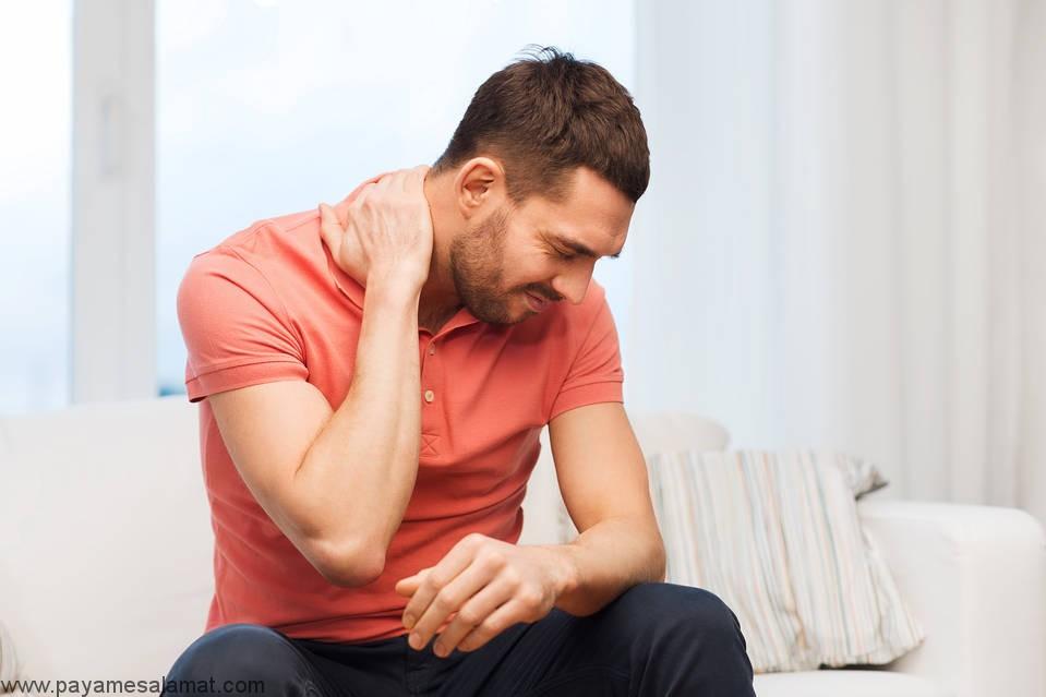 علائم آسیب عصب های C4 و C5