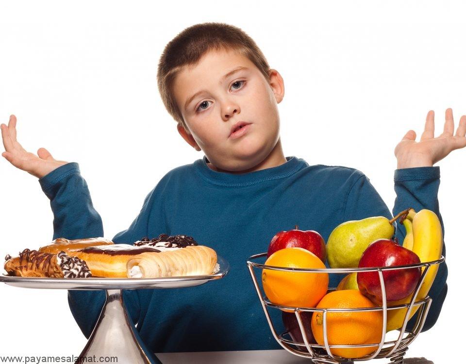 رژیم غذایی برای کودکان مبتلا به دیابت نوع ۱