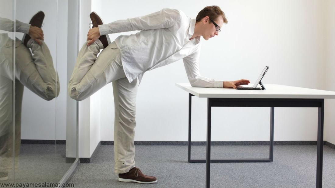 آیا سوزاندن کالری به وسیله حرکت دادن پا امکان پذیر است؟