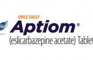 معرفی داروی اپتیوم Aptiom (eslicarbazepine acetate)