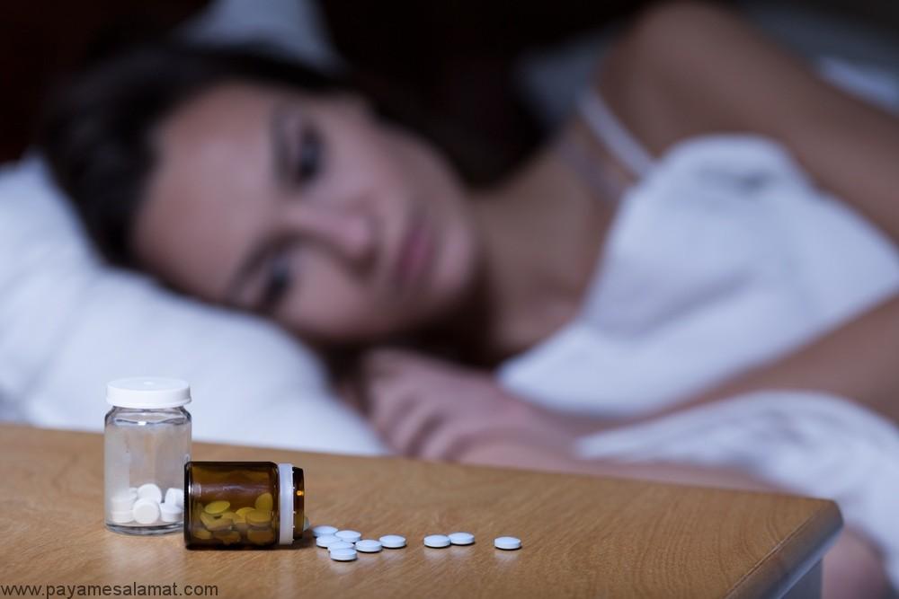 علائم و داروهای درمان بی خوابی به همراه عوارض جانبی آن ها