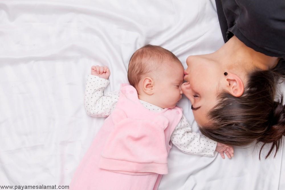 در چه صورتی کودک دارای گروه خونی Rh منفی می شود؟