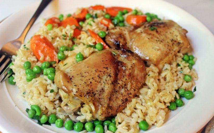 آیا مرغ و برنج قهوه ای چربی بدن را کاهش می دهند؟