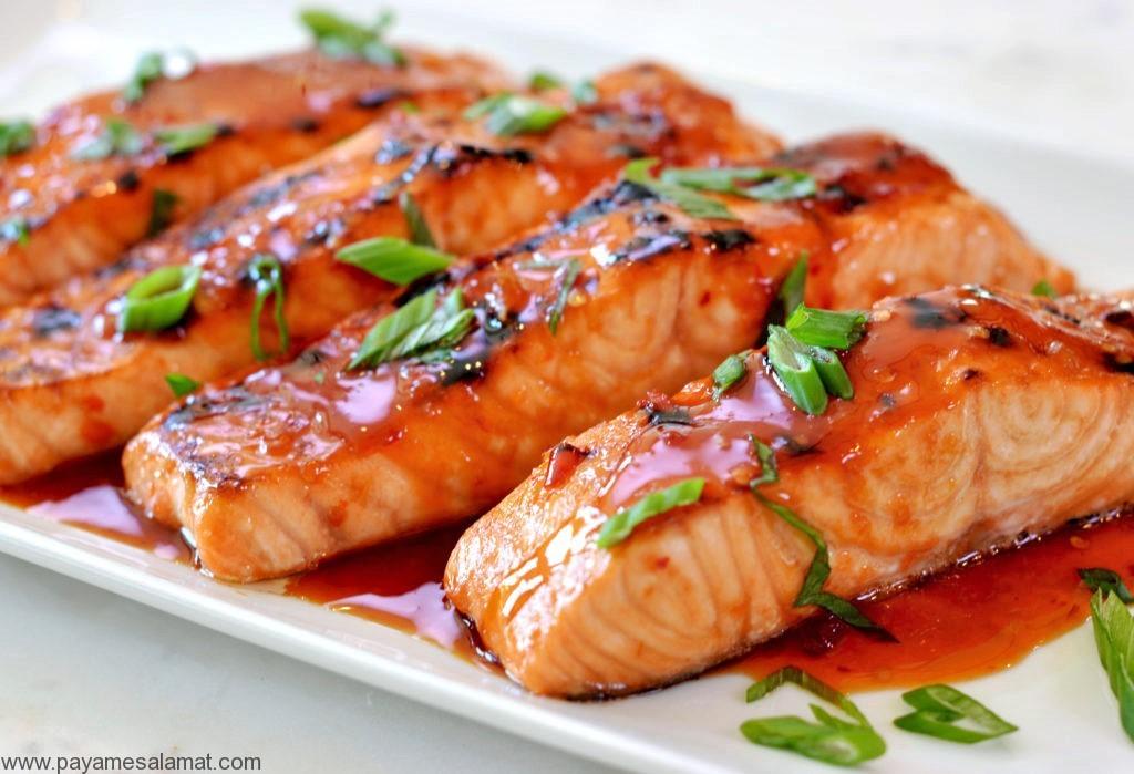 ۸ نمونه از مهترین خواص ماهی سالمون برای بدن به همراه ارزش غذایی این ماهی