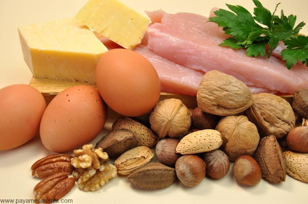 مواد غذایی غنی از بیوتین (ویتامین B7) و علائم کمبود این ویتامین در بدن