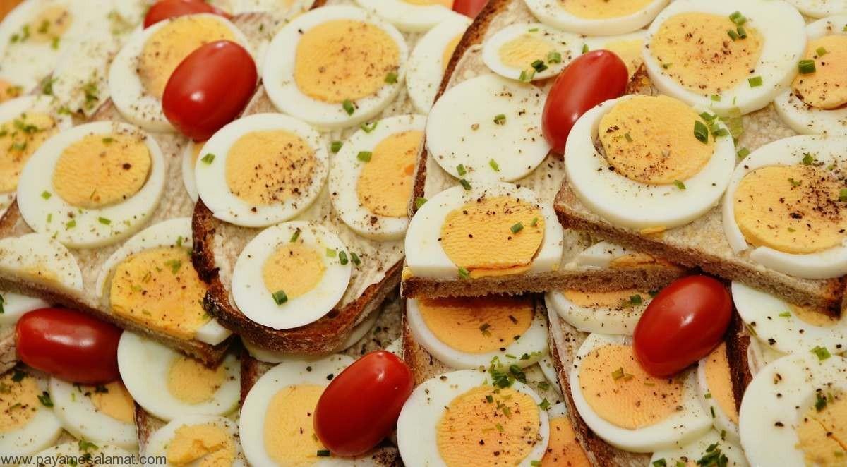 آیا تخم مرغ آب پز یک غذای مفید و سالم است؟