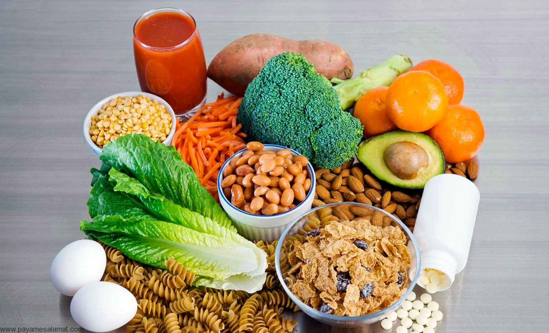 مواد غذایی سرشار از اسید فولیک (ویتامین B9) و علائم کمبود این ماده در بدن