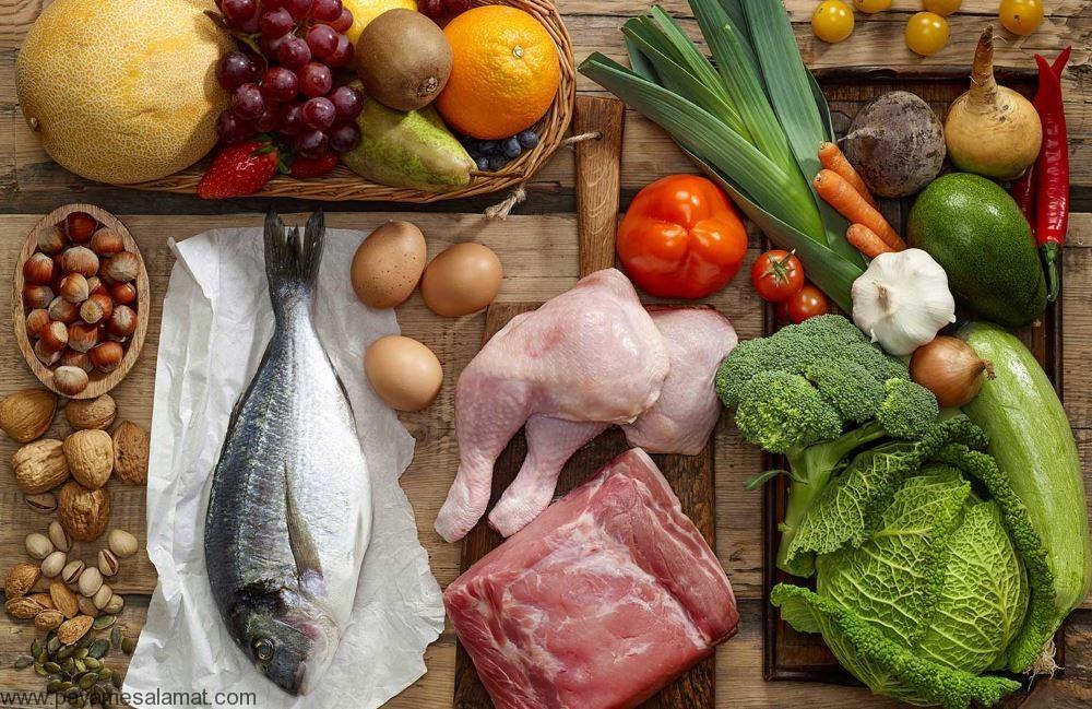 مواد غذایی سرشار از پروتئین و مقدار پروتئین موجود در هر کدام