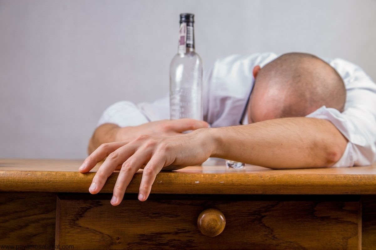 مراحل اعتیاد به الکل