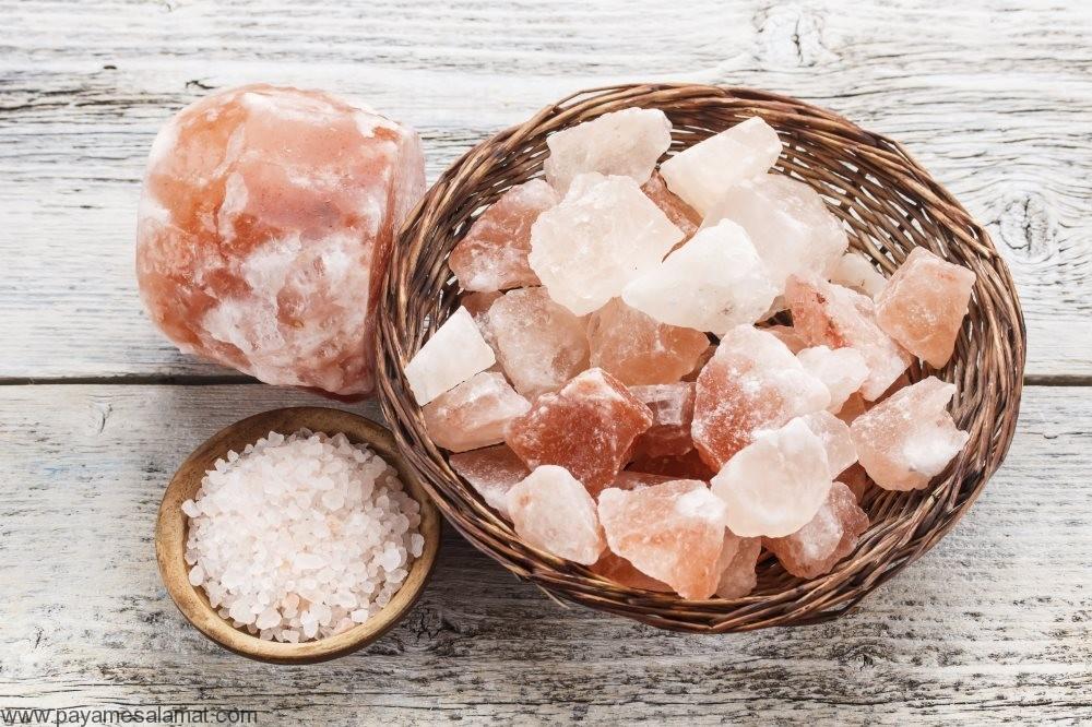 خواص نمک هیمالیا (نمک صورتی) برای پاکسازی بدن، متعادل کردن PH، کنترل قند خون و...