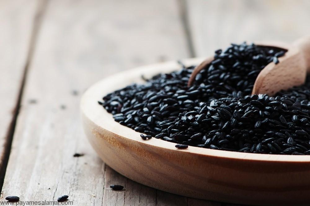 خواص برنج سیاه و ارزش غذایی این ماده برای بدن