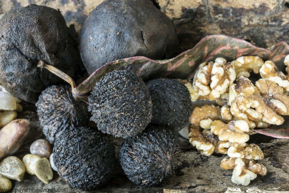 خواص گردو سیاه برای بدن و ارزش غذایی این دانه