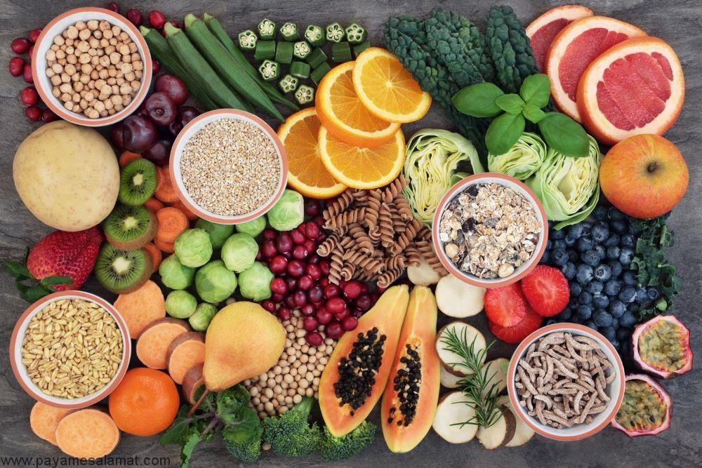 بهترین منابع فیبر برای افراد دیابتی جهت کنترل قند خون