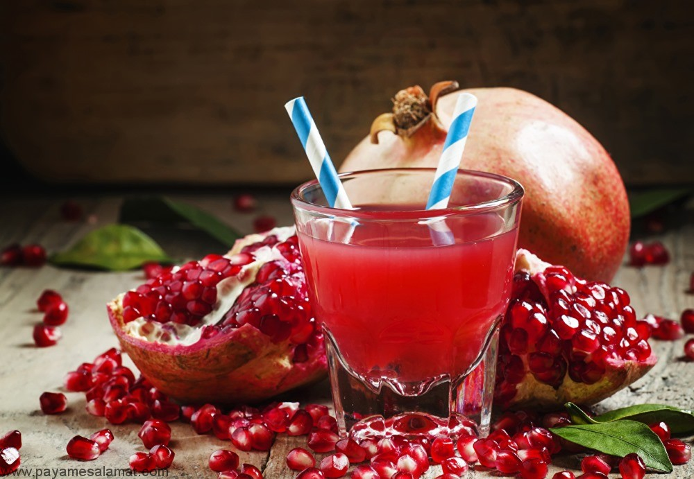 خواص آب انار ، ارزش غذایی این نوشیدنی و مقایسه آن با دیگر نوشیدنی ها