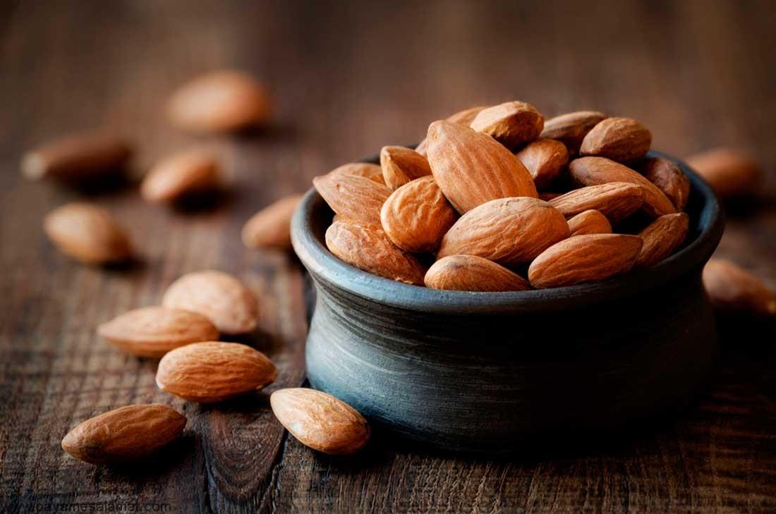 مزایای مصرف روزانه بادام برای بدن چه می باشد؟