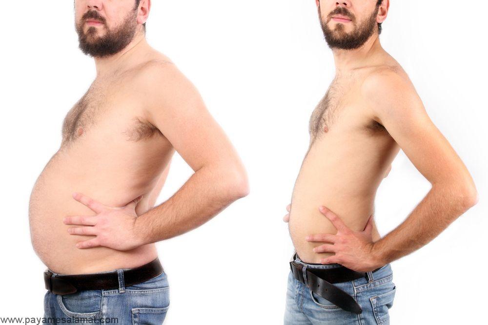 مواد غذایی مفید برای کاهش چربی شکم