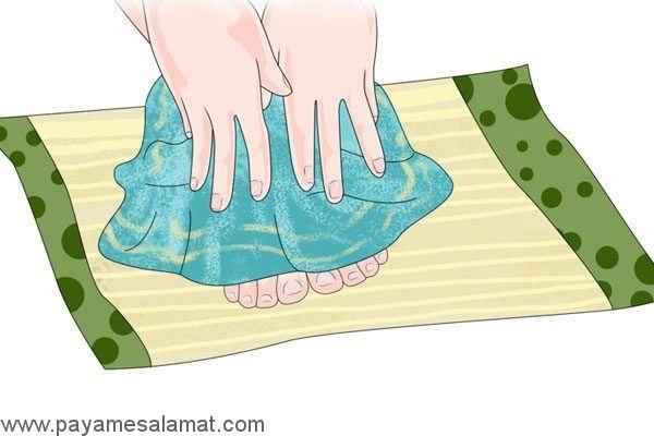 روش صحیح تمیز کردن پاها