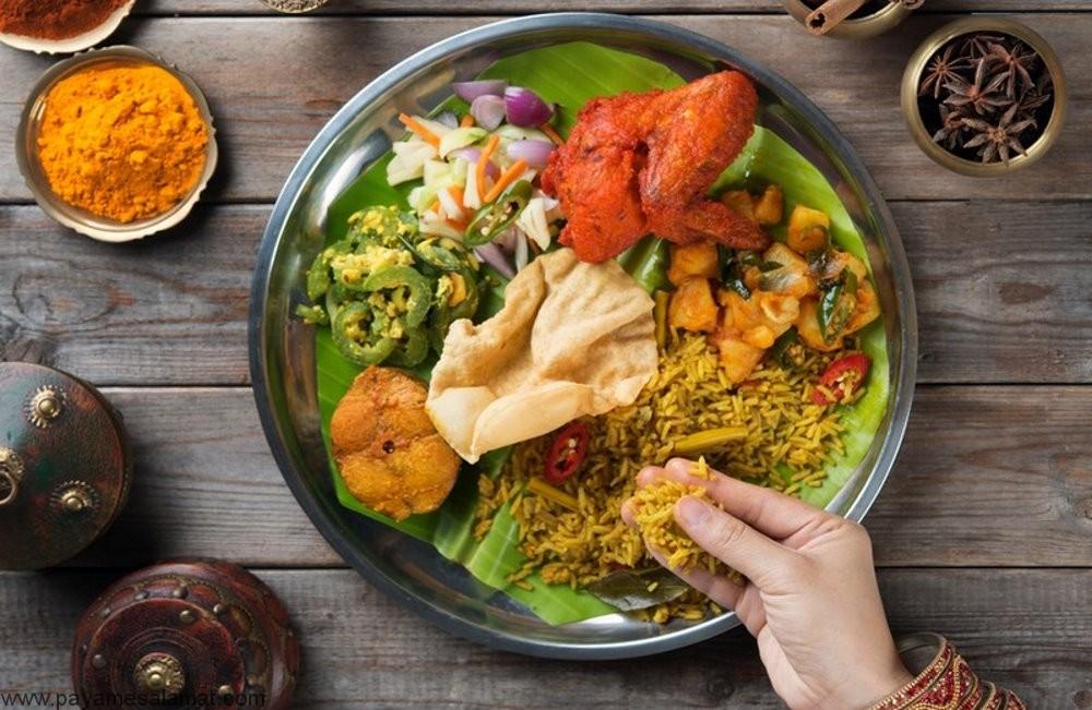 مزایای غذا خوردن با دست چیست؟