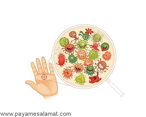 عوارض مصرف مکرر مواد ضد عفونی کننده دست ها