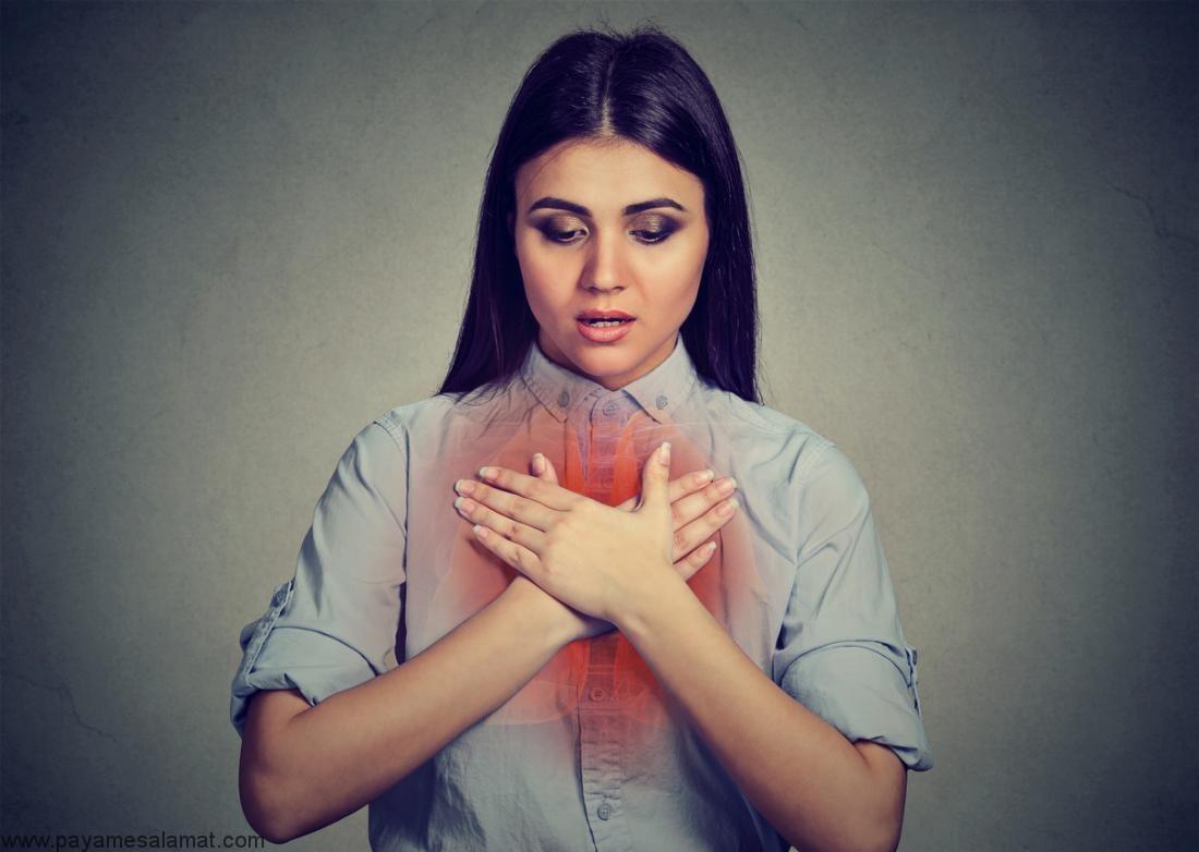 درمان خس خس سینه به کمک روش های خانگی و طبیعی