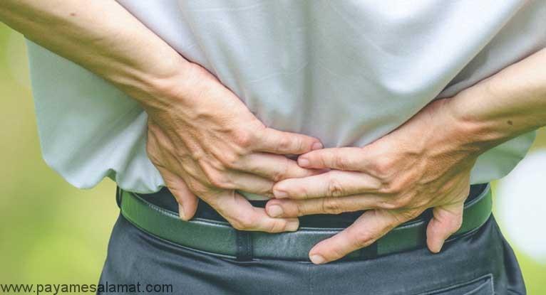 چه چیزی موجب نفخ شکم و کمر درد می شود؟
