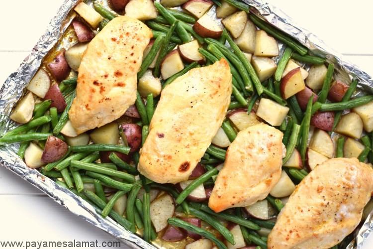 بهترین سبزیجات برای مصرف در کنار مرغ