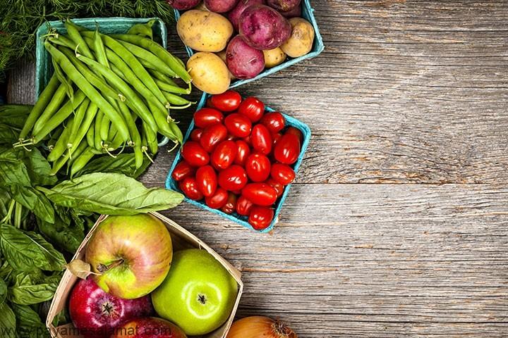 منابع فیبر نامحلول در رژیم غذایی
