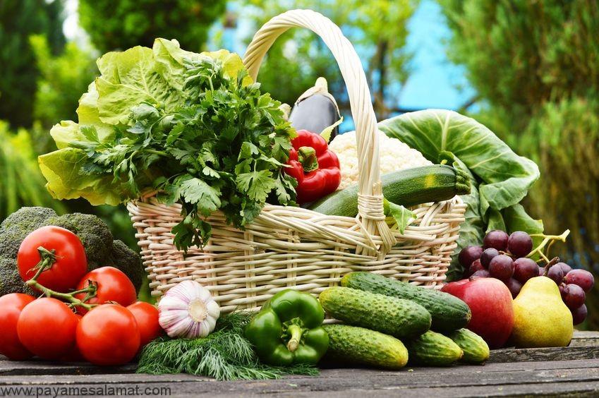 پیامدهای نخوردن میوه ها و سبزیجات کافی در روز برای بدن