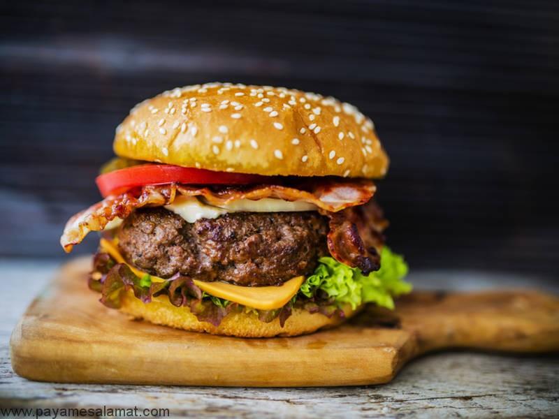 مقدار پروتئین موجود در همبرگر چقدر است؟