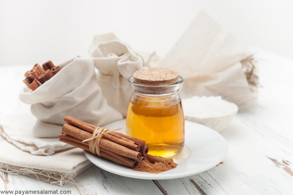 خواص عسل و دارچین برای بدن و حل مشکلات مختلف