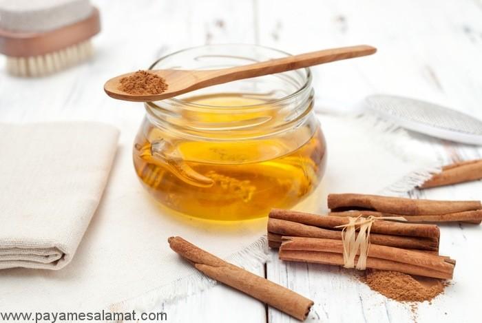 خواص عسل و دارچین برای بدن