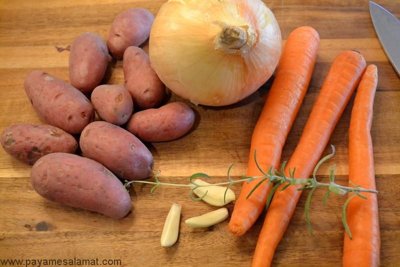 آشنایی با مهمترین مواد مغذی موجود در پیاز و هویج