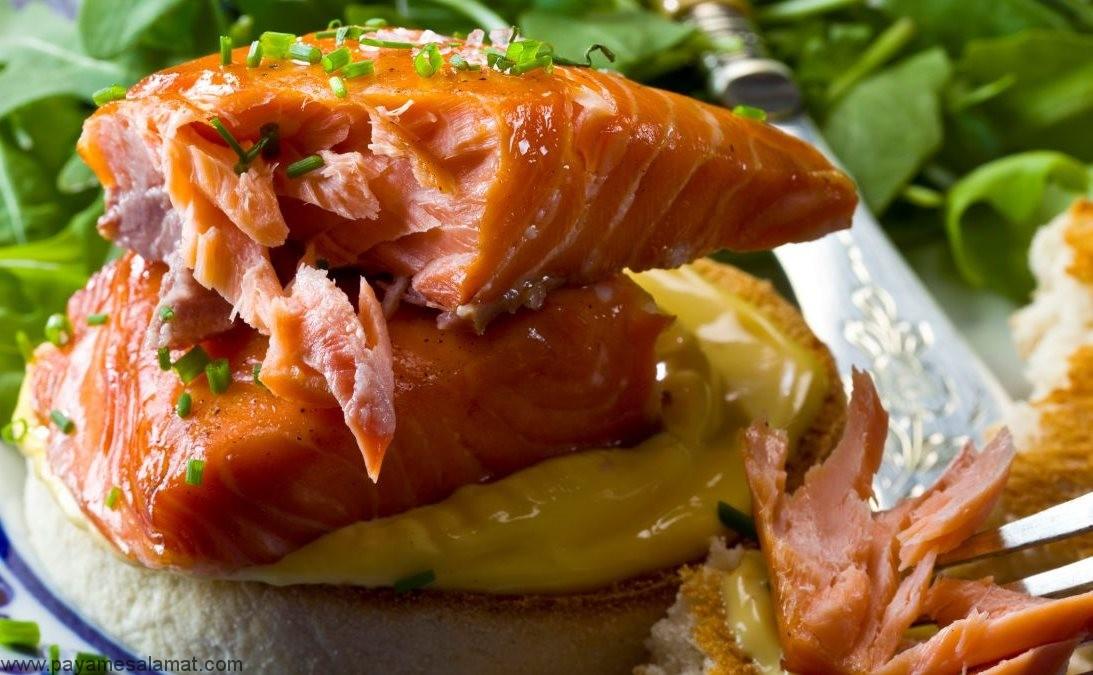 مقدار پروتئین موجود در ماهی سالمون چقدر است؟