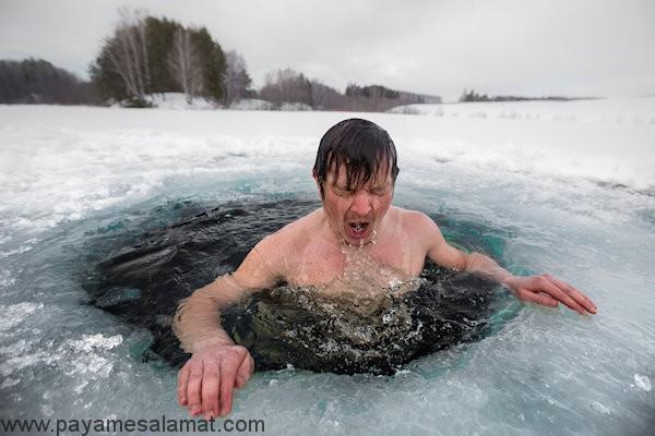 مزایای شنا کردن در آب سرد برای بدن